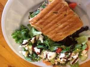 Panini salad combo